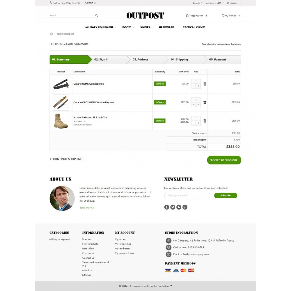 theme - Fashion & Shoes - OutPost 1.6 Responsive - 8