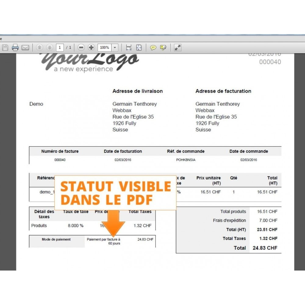 module - Betaling per Factuur - Payment by Invoice - 11