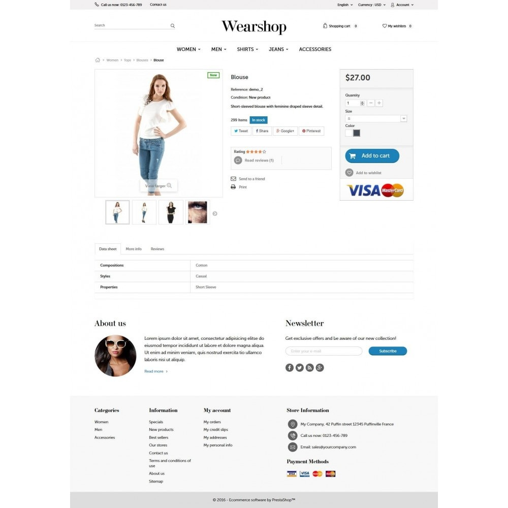 theme - Fashion & Shoes - Wearshop 1.6 Responsive - 6