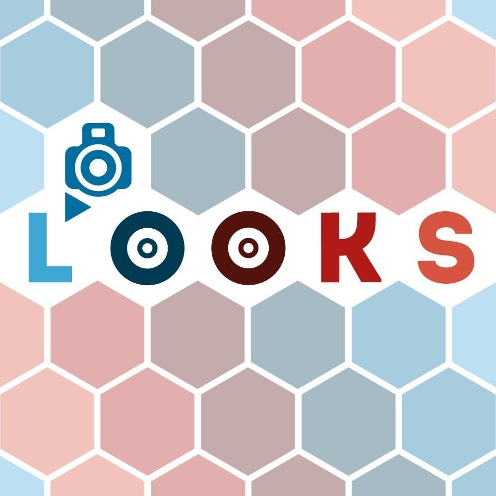 module - Personalización de la página - Looks - 1