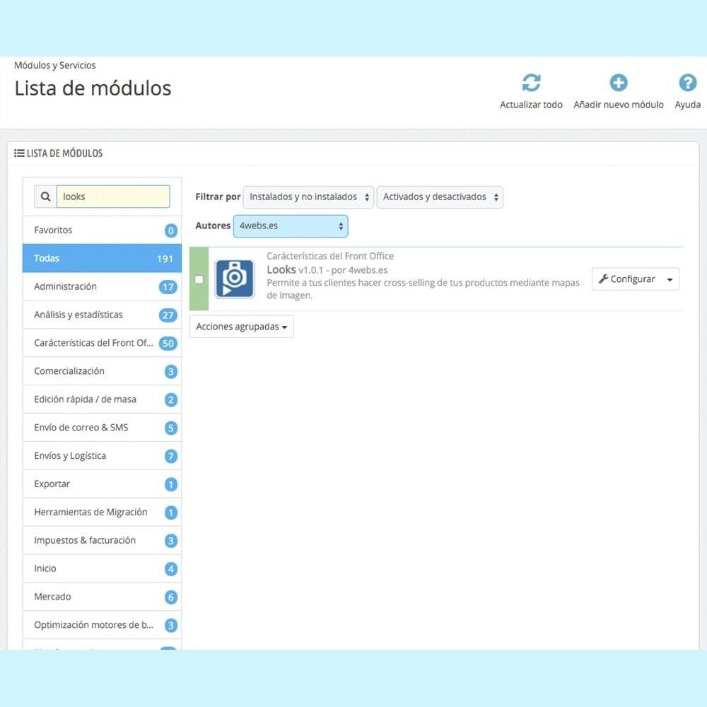 module - Personalización de la página - Looks - 5