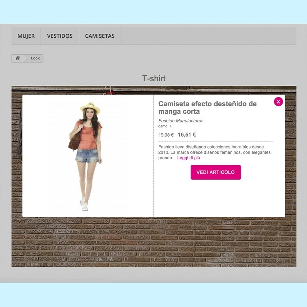 module - Personalizzazione pagine - Looks - 3