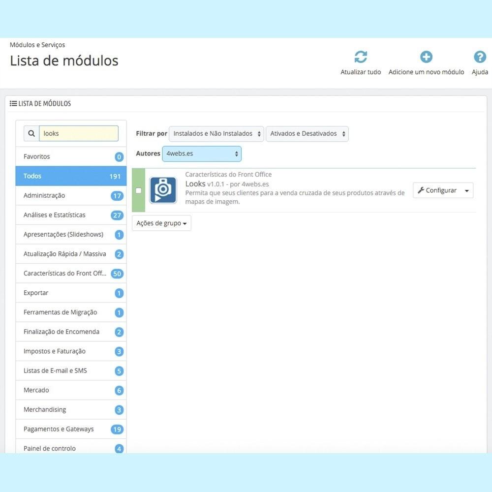 module - Personalização de página - Looks - 5