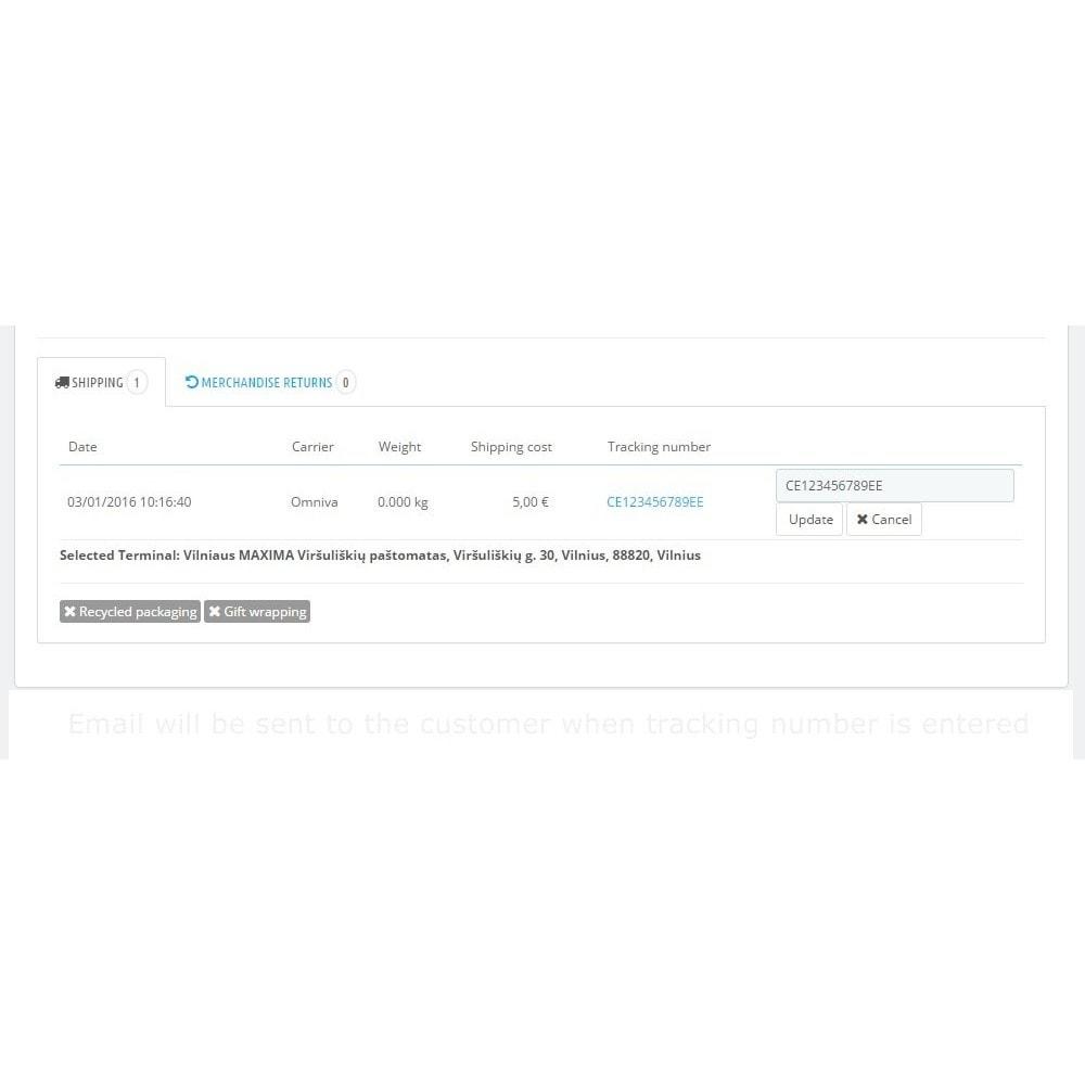 module - Punto di raccolta & Ritiro in negozio - Omniva Terminals - 4