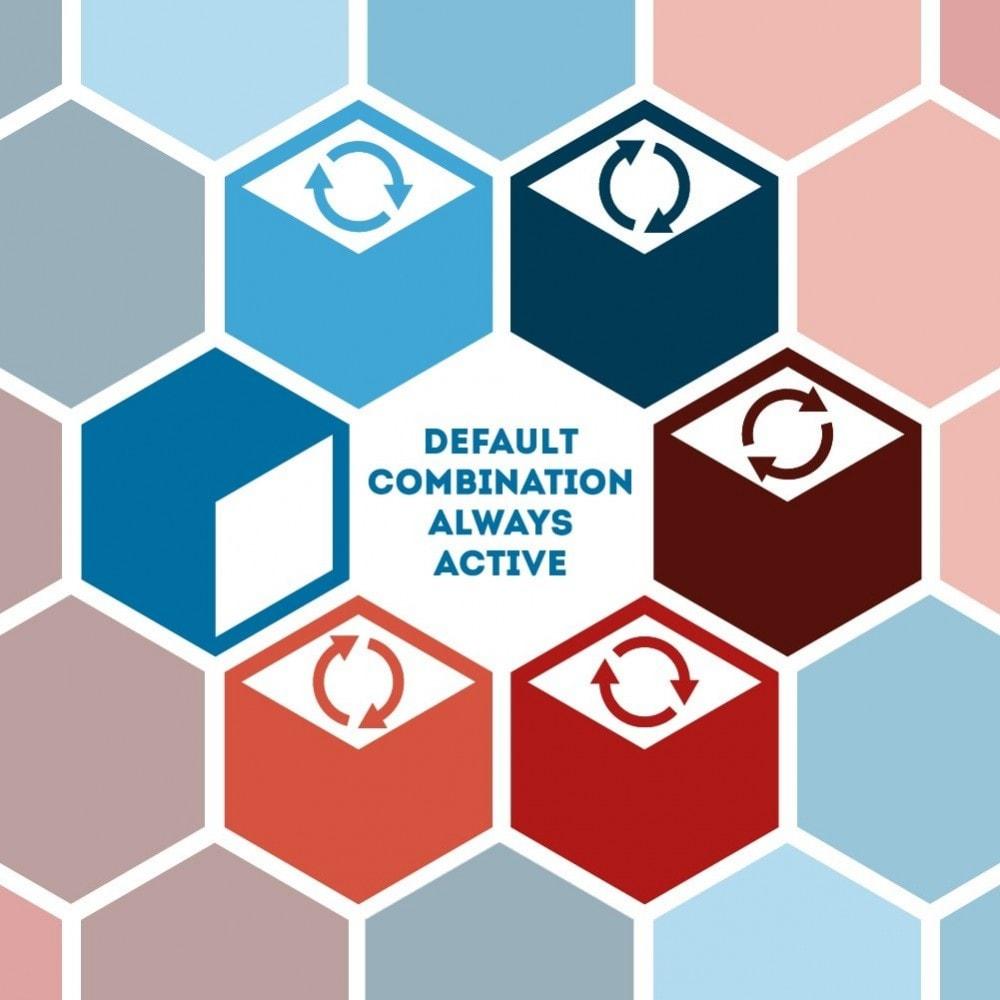 module - Diversificação & Personalização de Produtos - Default combination always active - 1