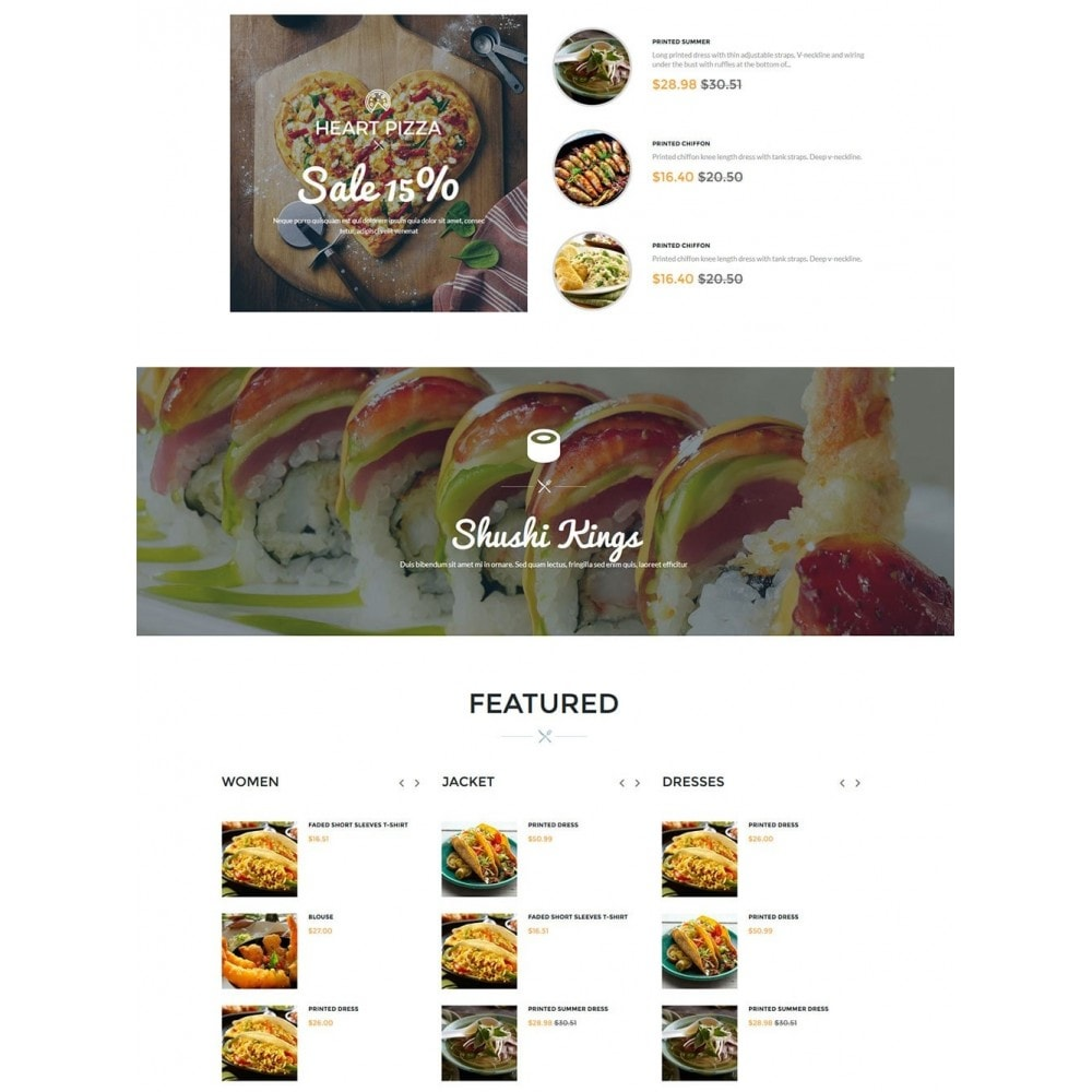theme - Alimentation & Restauration - Water Delicieux Food Store - 4