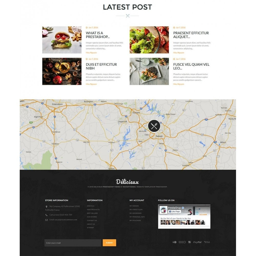 theme - Lebensmittel & Restaurants - Water Delicieux Food Store - 5