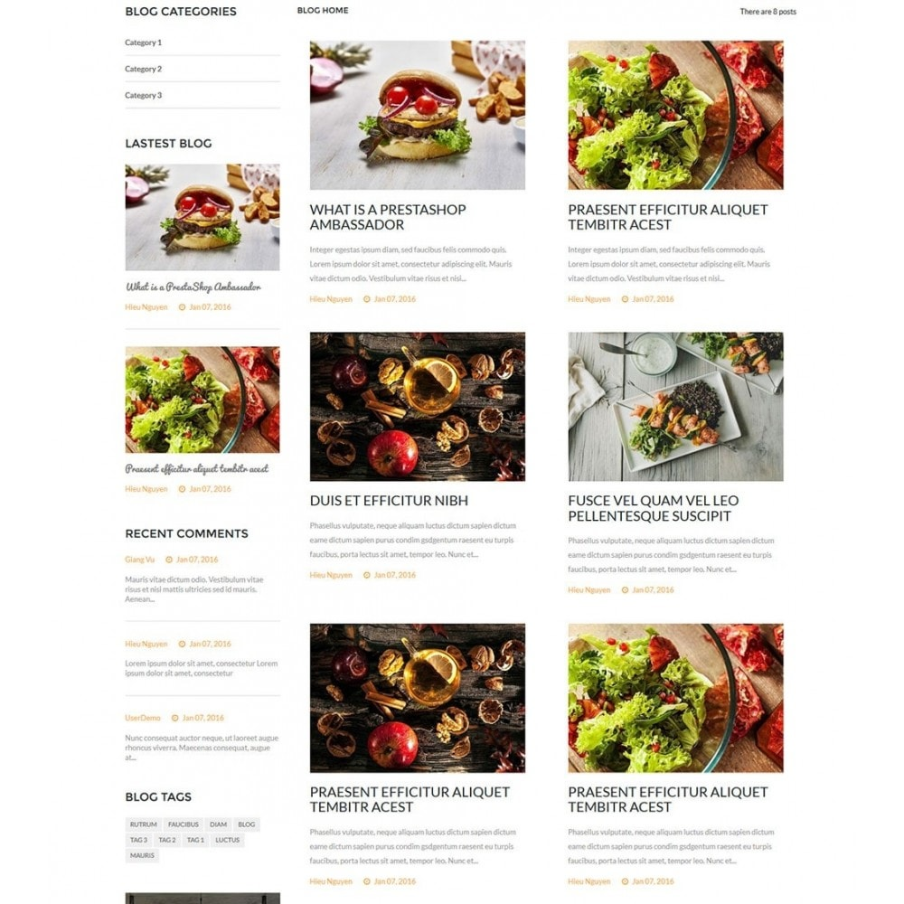 theme - Alimentation & Restauration - Water Delicieux Food Store - 8