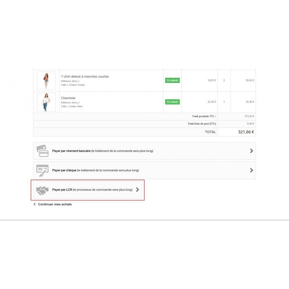 module - Inne środki płatności - Bill of exchange (LCR) - 6