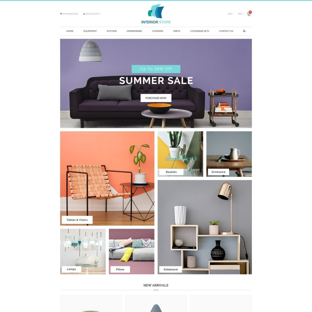 theme - Home & Garden - Home & Furniture - Interior Responsive Store - 2