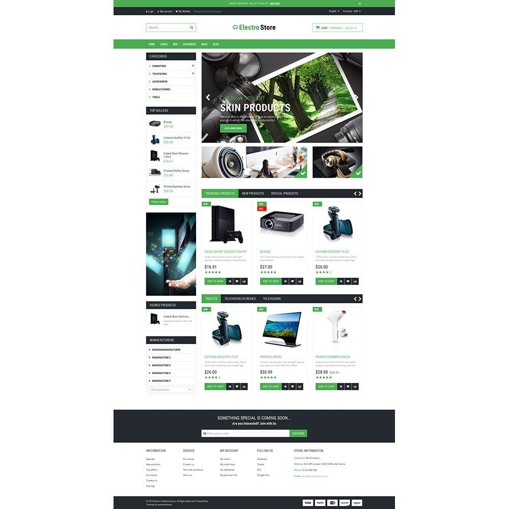 theme - Eletrônicos & High Tech - Electro & HighTech Responsive Store - 2