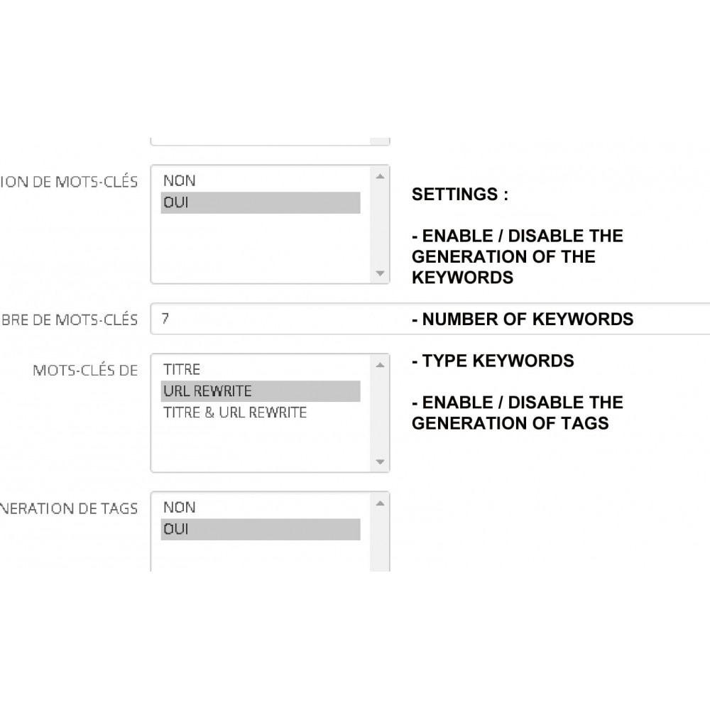 bundle - Естественная поисковая оптимизация - Pro SEO : metas tags auto generator + SEO Image Pack - 2