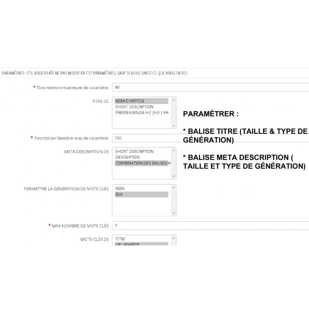 module - SEO (référencement naturel) - AUTO BALISES METAS (PRO) - 1