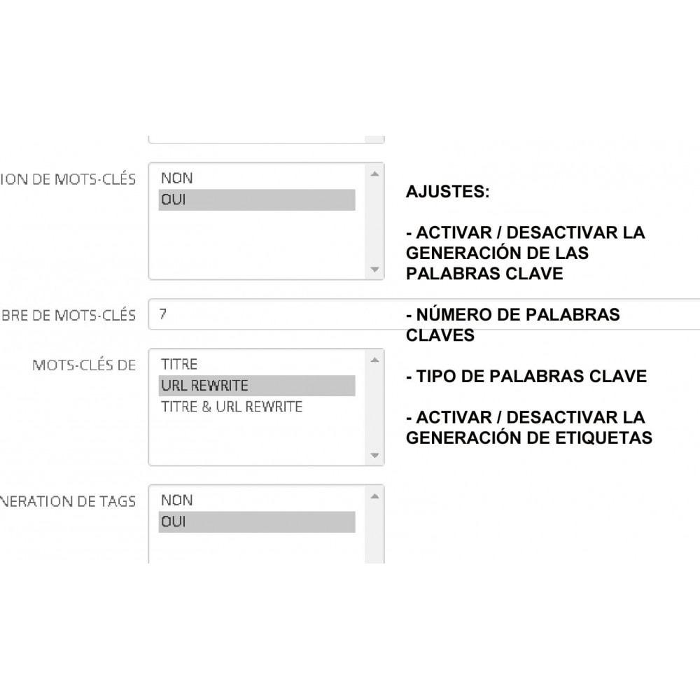 module - SEO (Posicionamiento en buscadores) - METAS TAGS AUTO GENERATOR (PRO) - 2