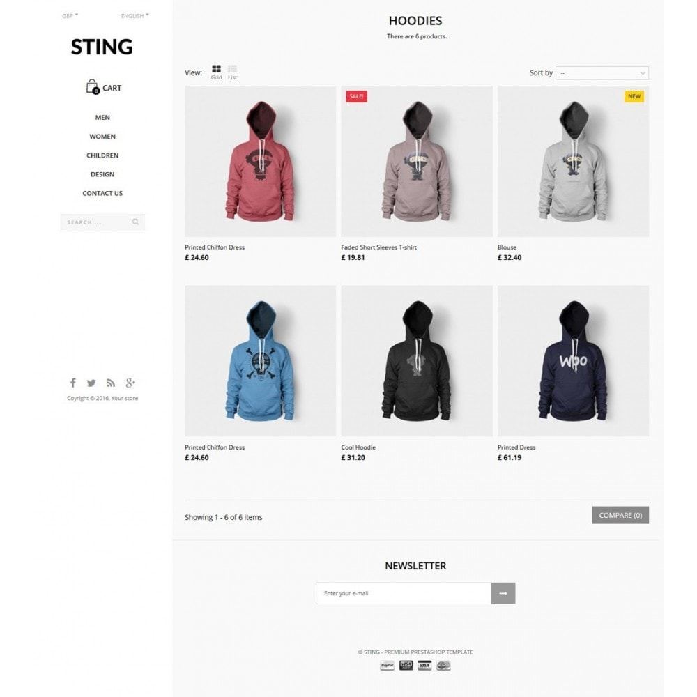 theme - Moda & Calzature - Sting - 8