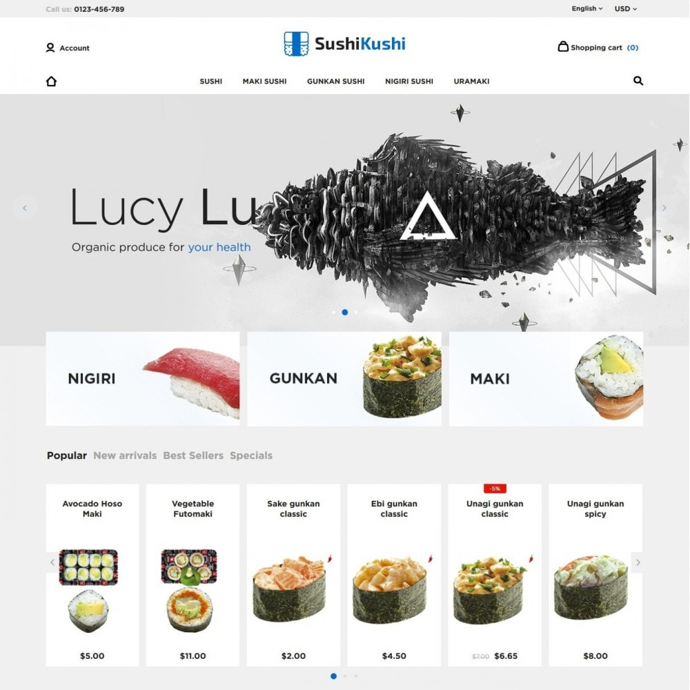 theme - Lebensmittel & Restaurants - Sushi Kushi - 2
