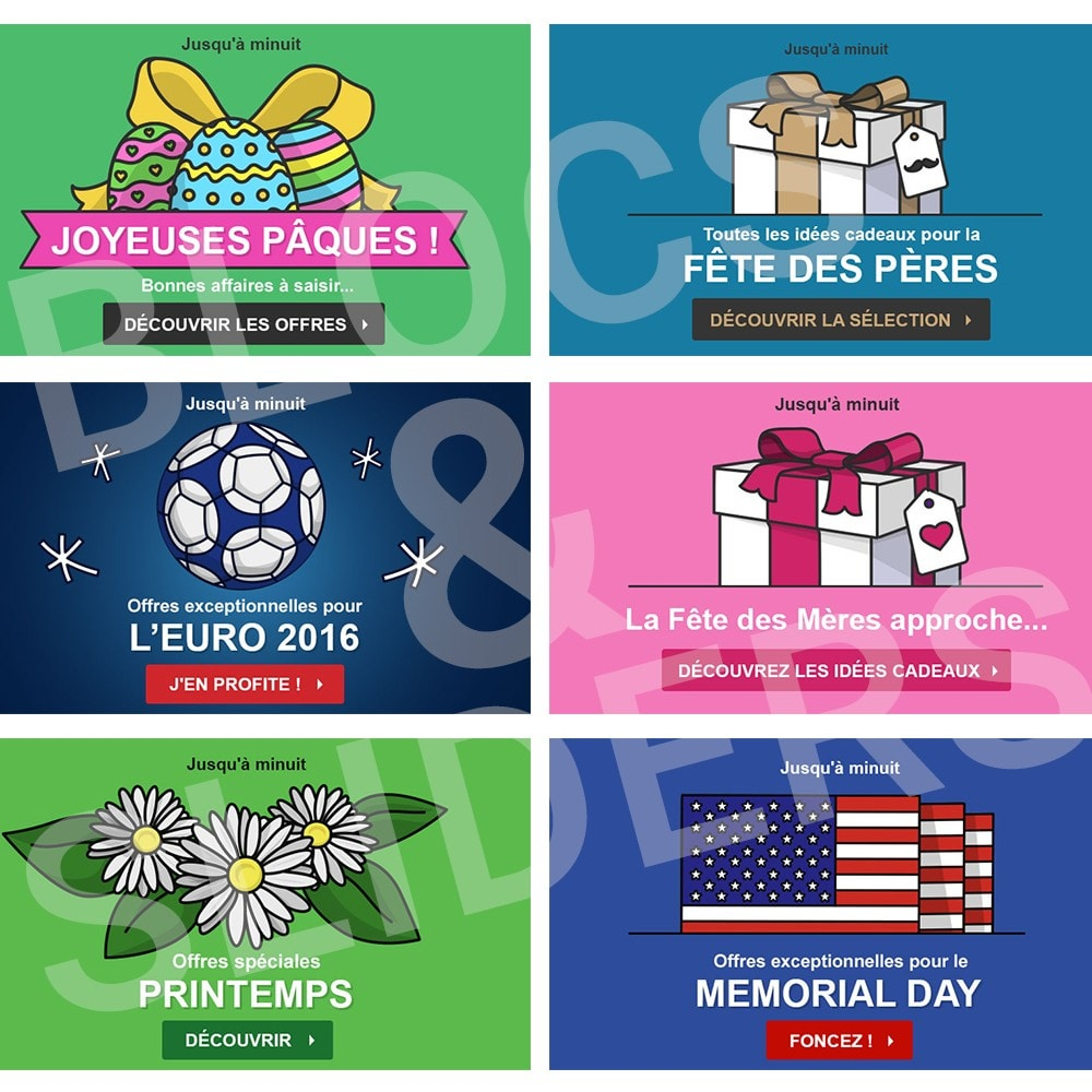 other - Visuels pour Promotions - 10 Visuels Promo - Printemps - 1