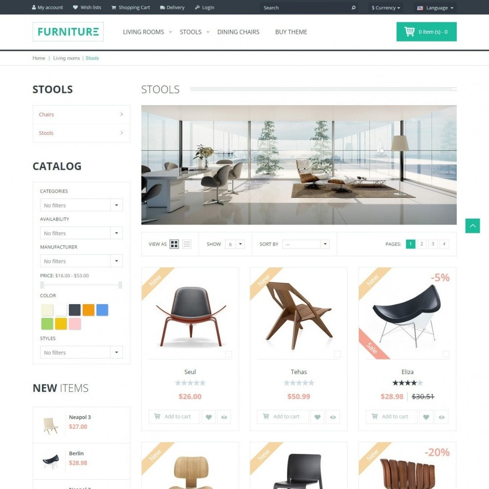 theme - Heim & Garten - Furniture - Interieur Geschäft - 3