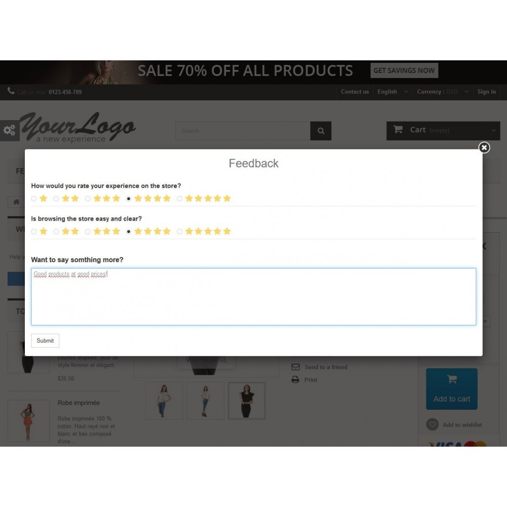 module - Customer Reviews - Rich Feedback : customers satisfaction and opinion - 1