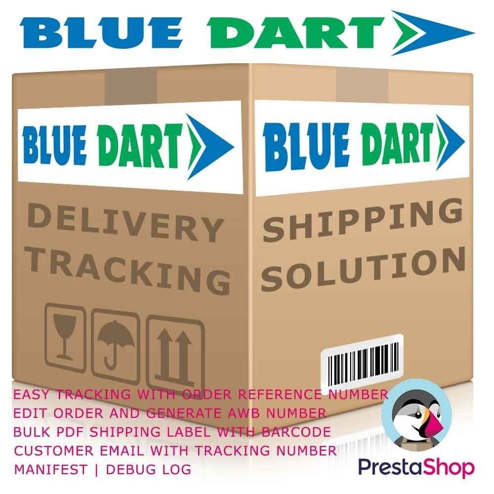 module - Shipping Carriers - Blue Dart Shipping by DHL - 1