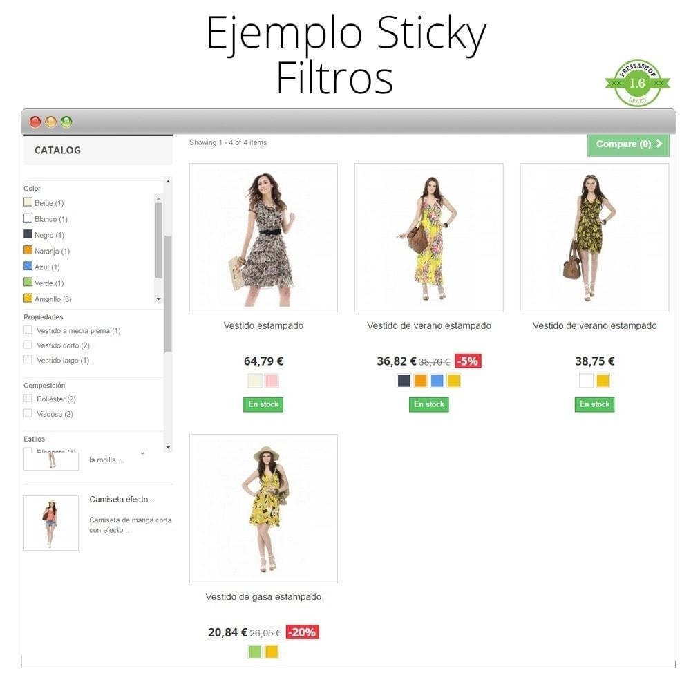 module - Personalización de la página - Haz flotante (sticky) la Cabecera, Carrito, Menú - 6