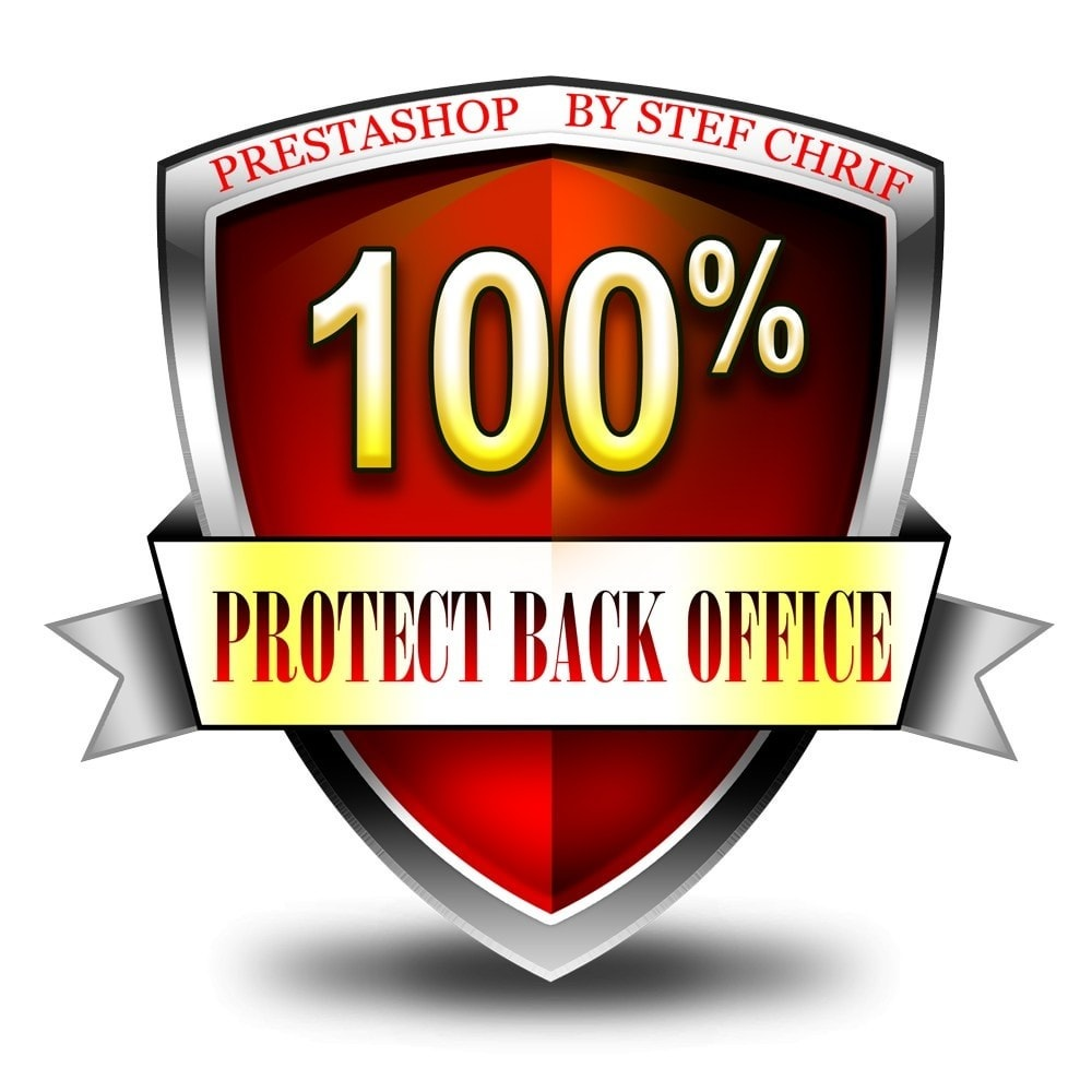 module - Безопасности и доступа - Protect your administration (Back Office) - 1