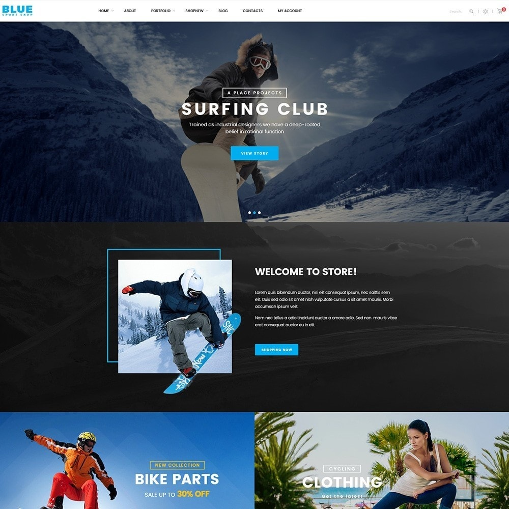 theme - Sports, Activities & Travel - BlueSport - 5
