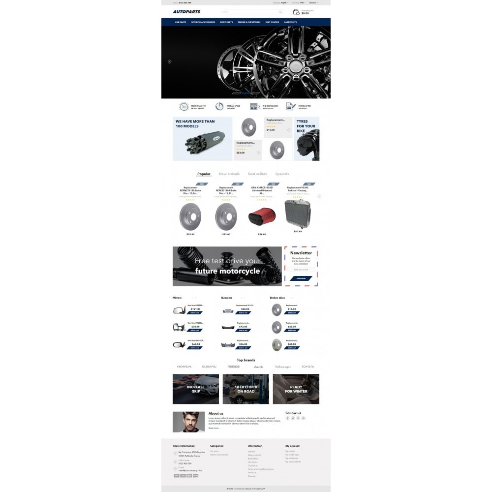 theme - Carros & Motos - AutoParts - 4