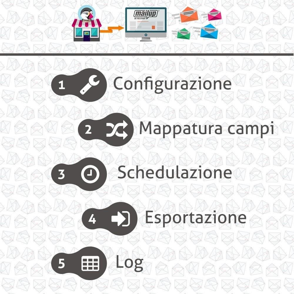 module - Newsletter & SMS - MailUp - 2