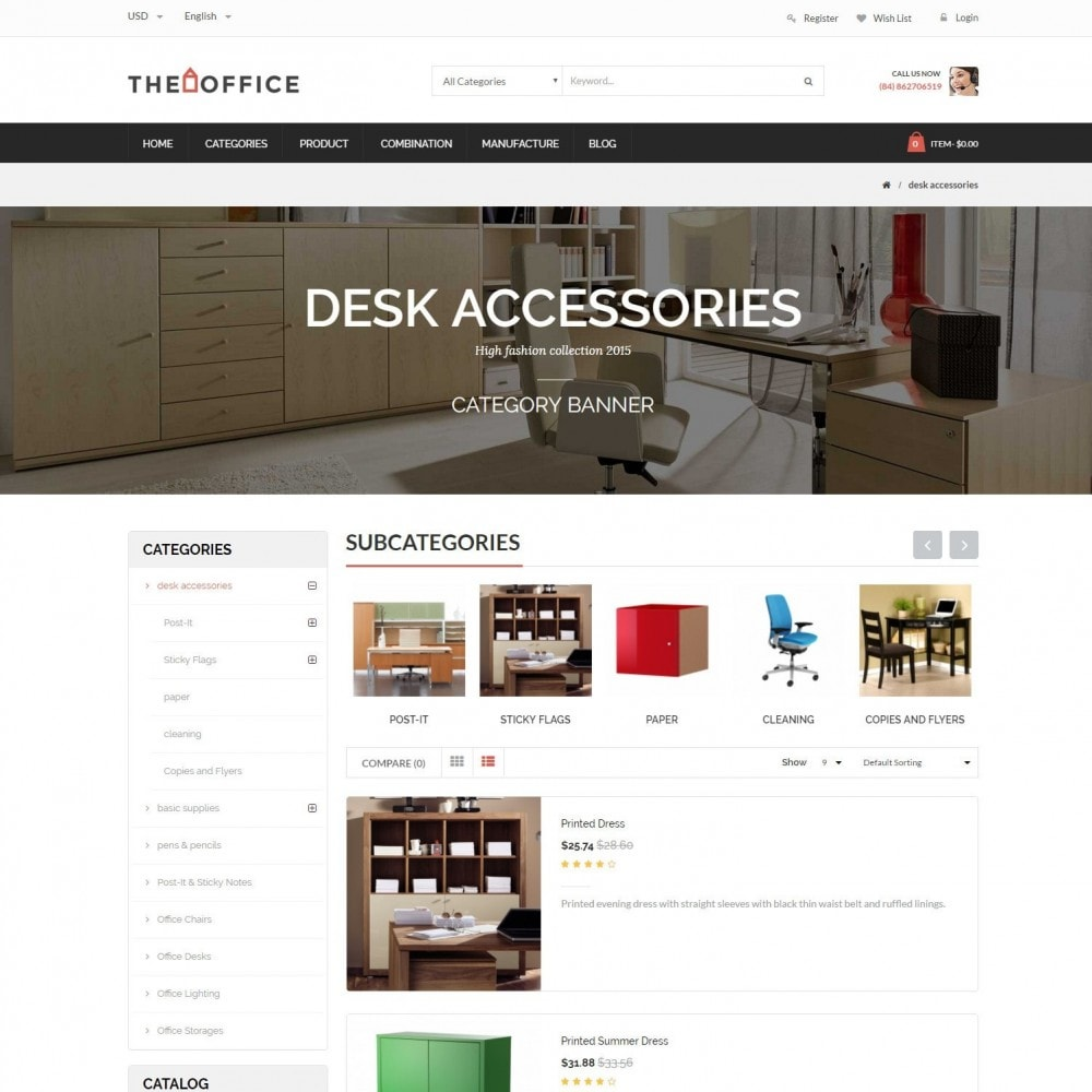 theme - Dom & Ogród - Office - Home, Furniture, Sofas, Wardrobes, Chest Store - 4