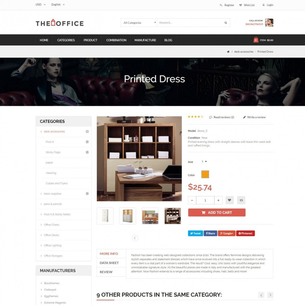 theme - Dom & Ogród - Office - Home, Furniture, Sofas, Wardrobes, Chest Store - 5