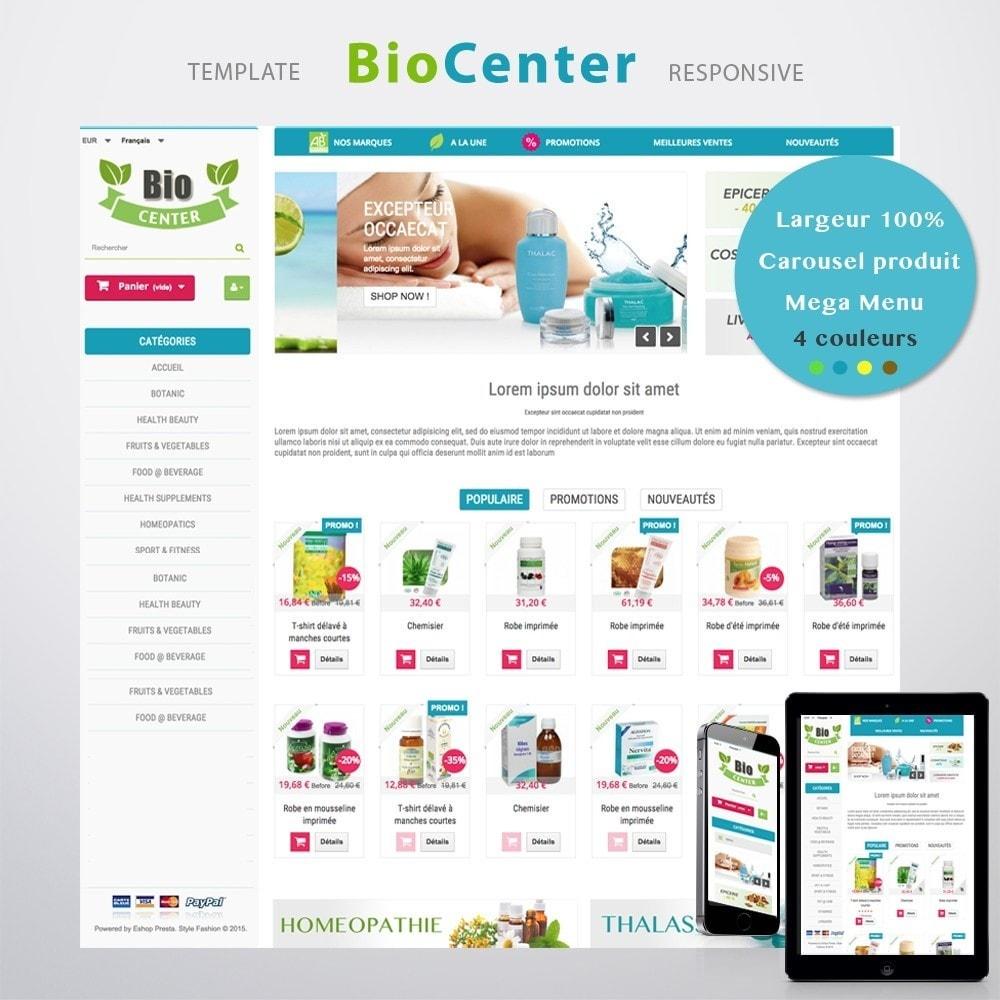 theme - Santé & Beauté - BioCenter - 2