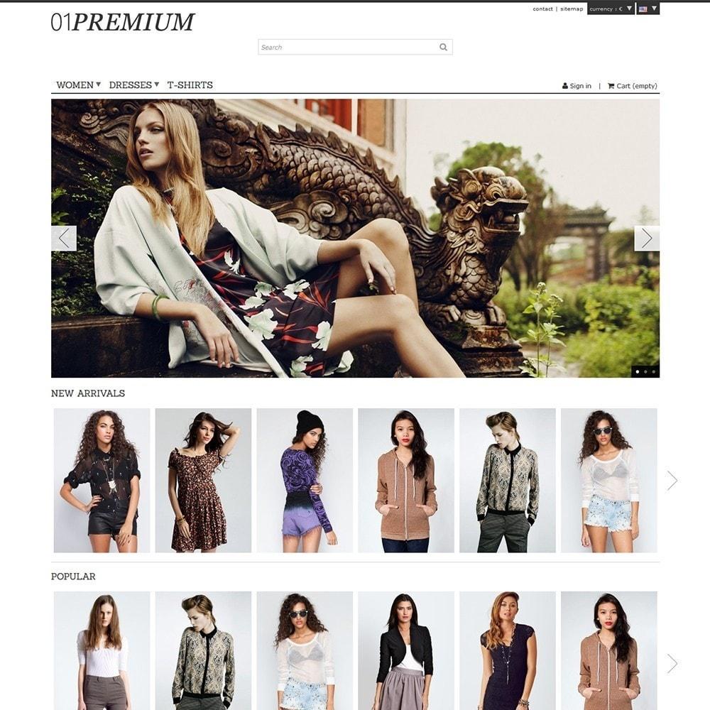 theme - Мода и обувь - 01 Premium - 2