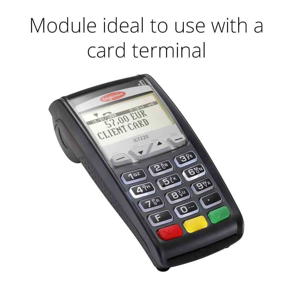 module - Kassasoftware (POS) - Manual Credit Card Processing - Offline payment - 2