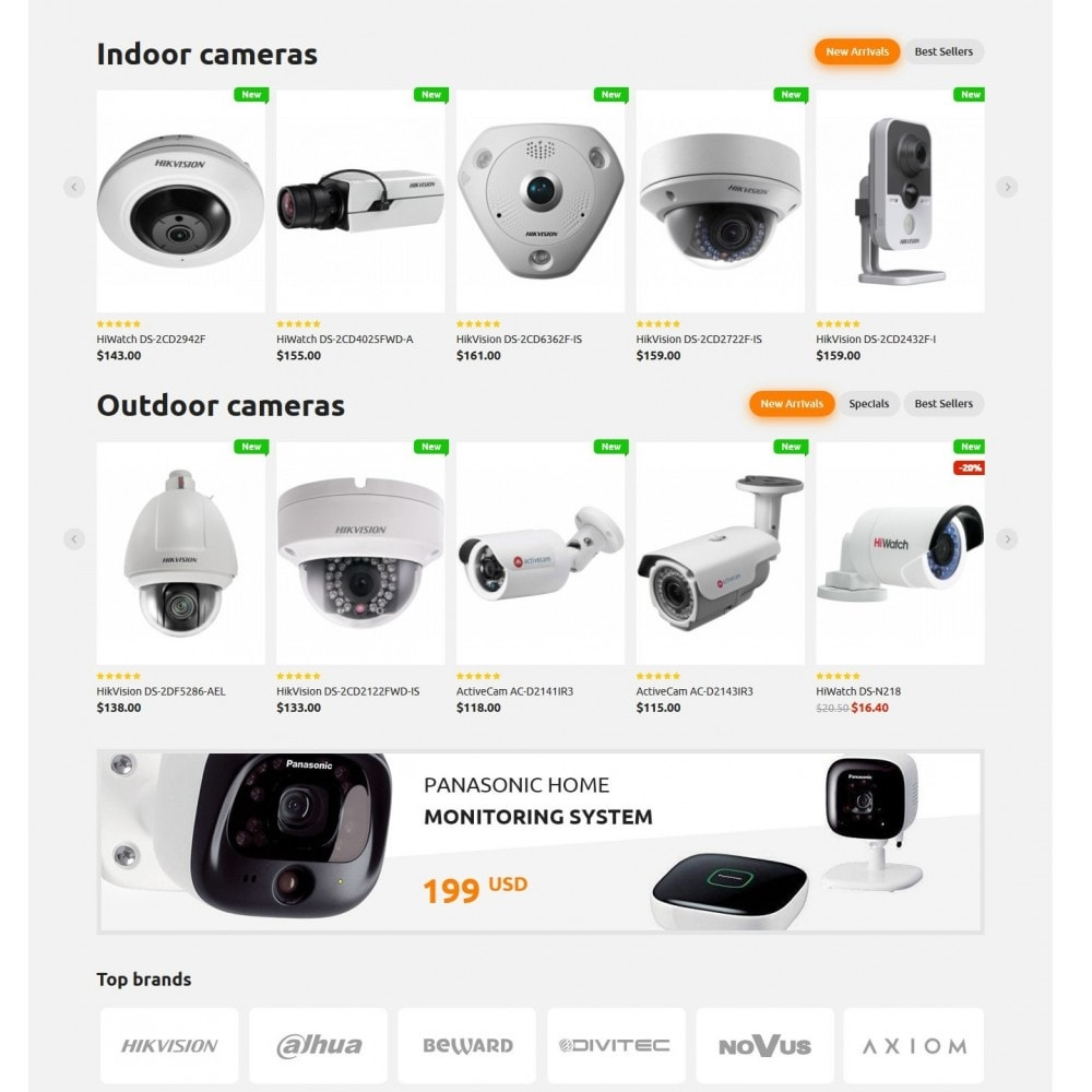 theme - Electrónica e High Tech - SmartEye Security Cameras - 3