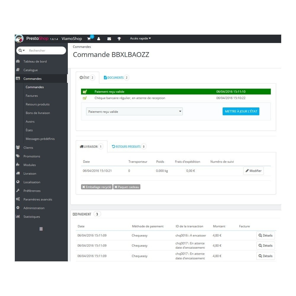 module - Платежи и платежные системы - Chequeasy - 9