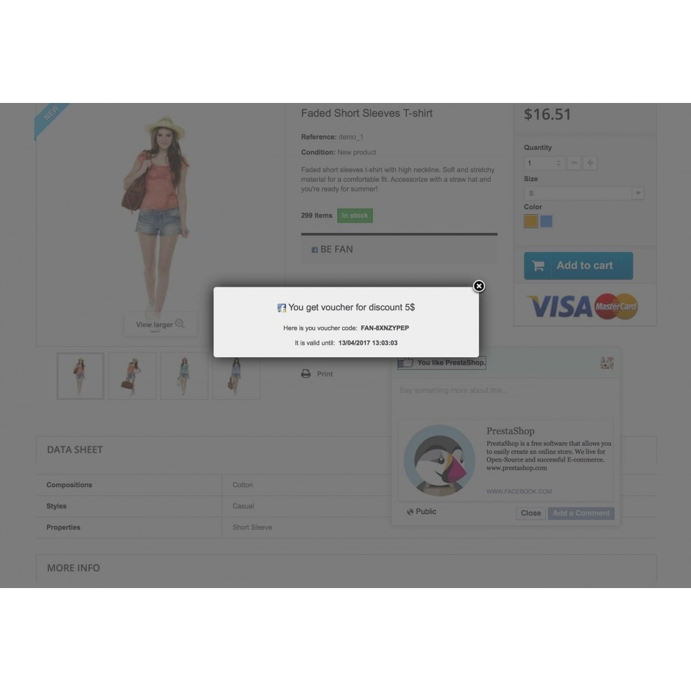 module - Social Network Coupon - Social Connect, Fan Coupon, Registration Coupon - 8