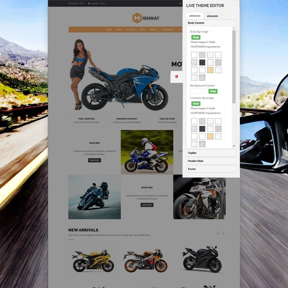 theme - Carros & Motos - Ap Highway - 6