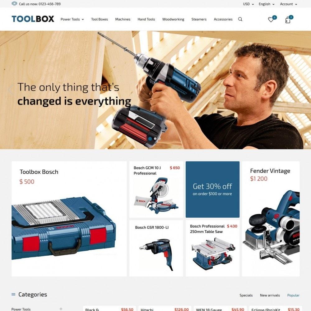 theme - Hogar y Jardín - Tool Box - 2