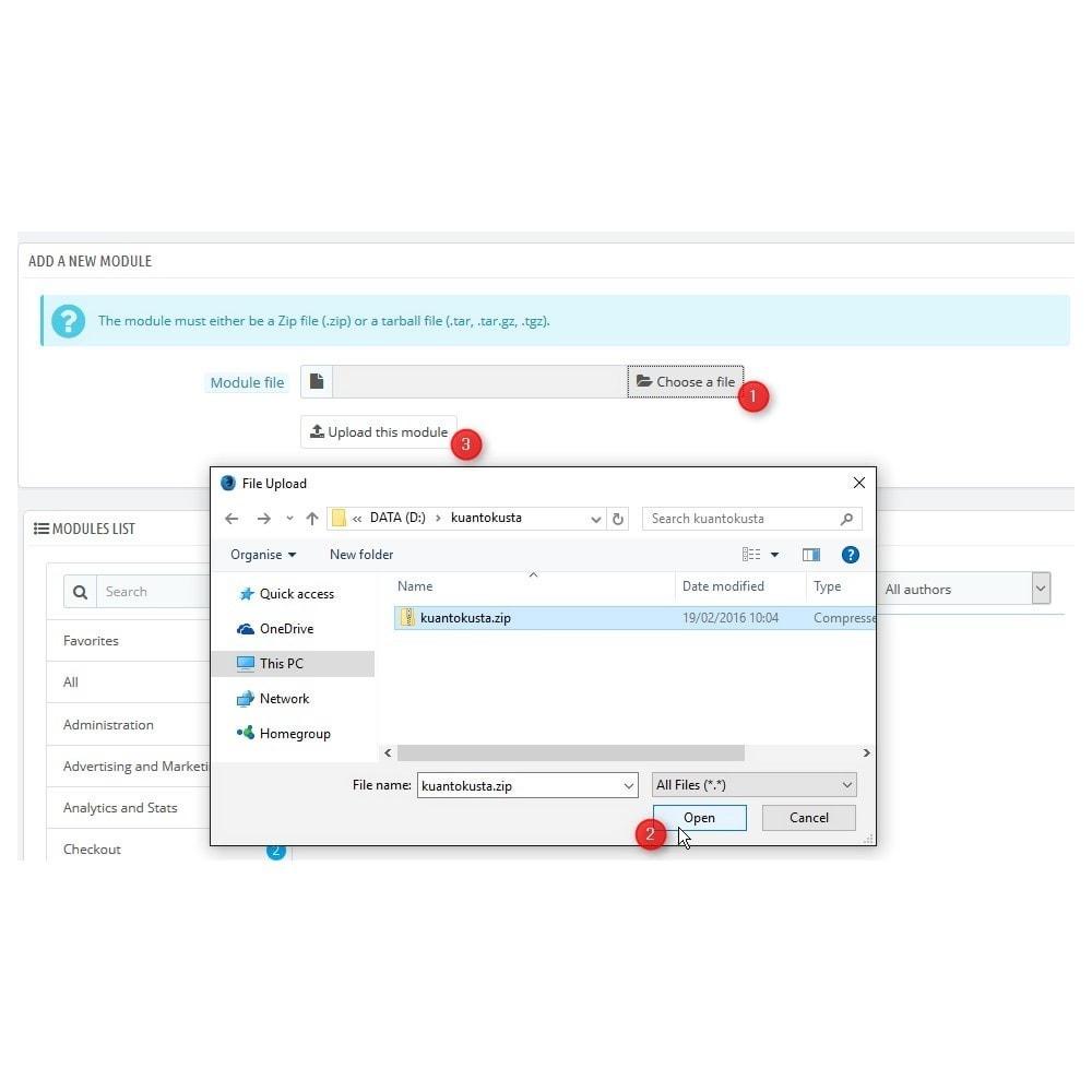 module - Porównywarki cen - Kuantokusta API - 2