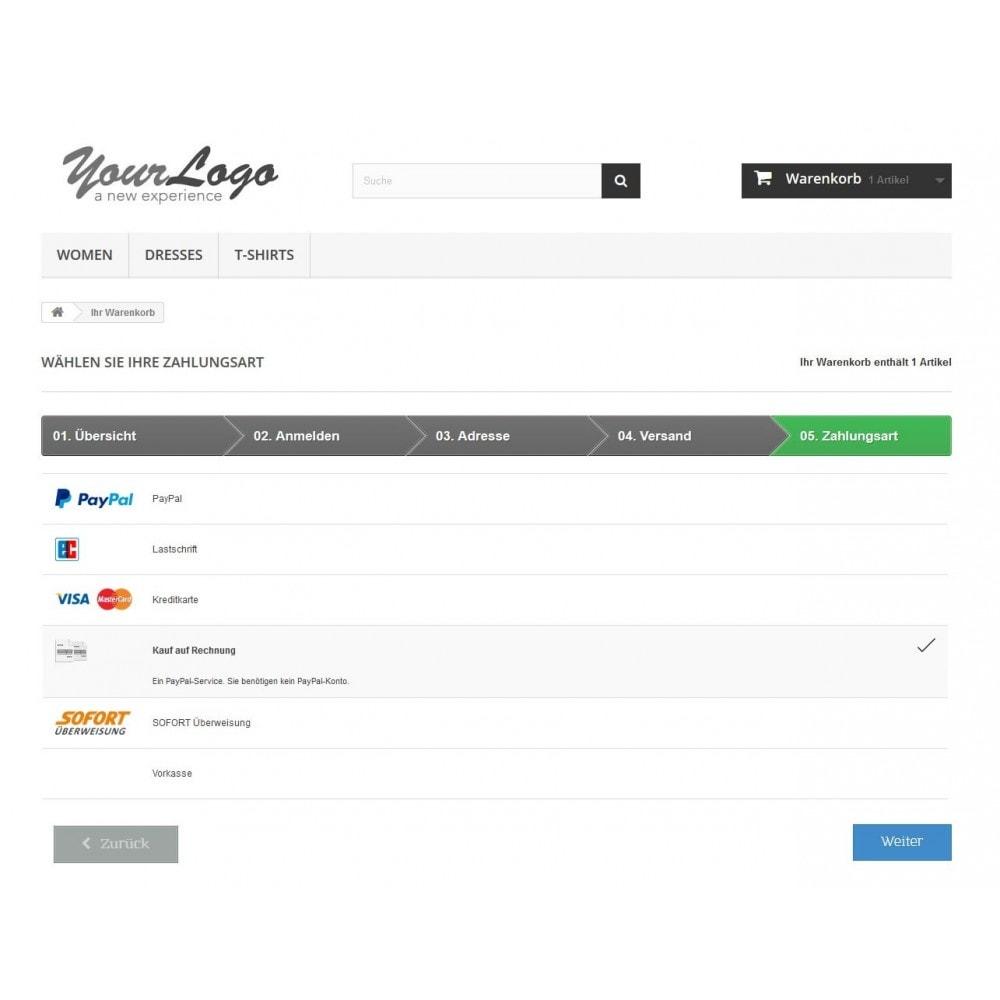 module - Zahlung per Kreditkarte oder Wallet - PayPal Plus - Rechnung, Lastschrift, Kreditkarte - 2