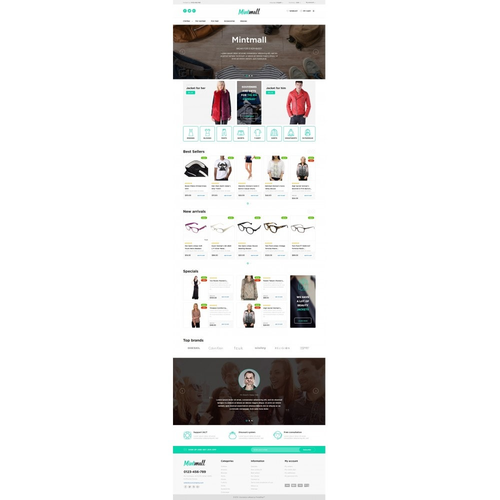 theme - Мода и обувь - Mintmall Fashion - 4
