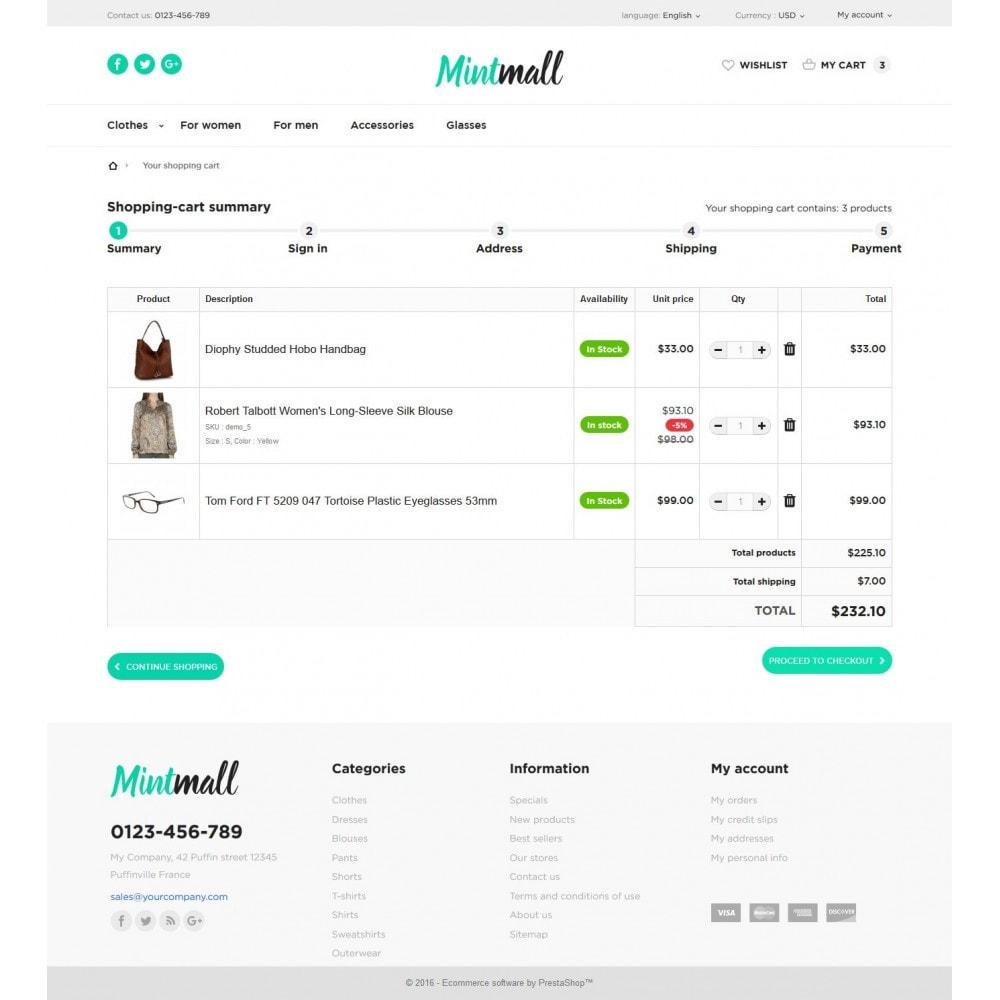 theme - Мода и обувь - Mintmall Fashion - 8