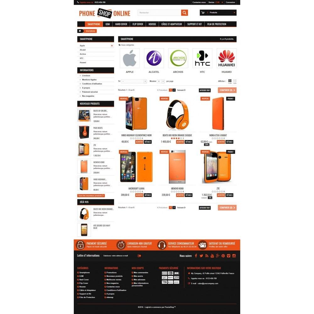 theme - Electrónica e High Tech - Phone Shop Online - 6
