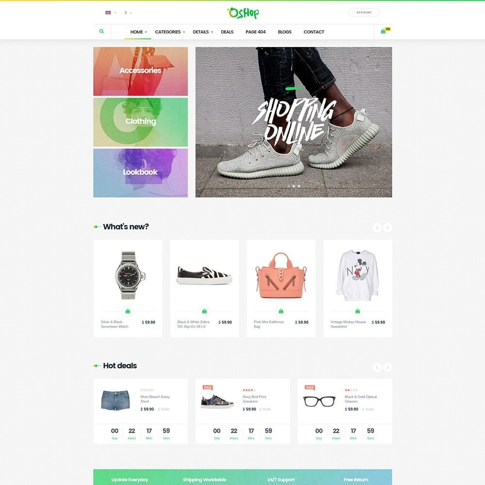 theme - Fashion & Shoes - Oshop - 3