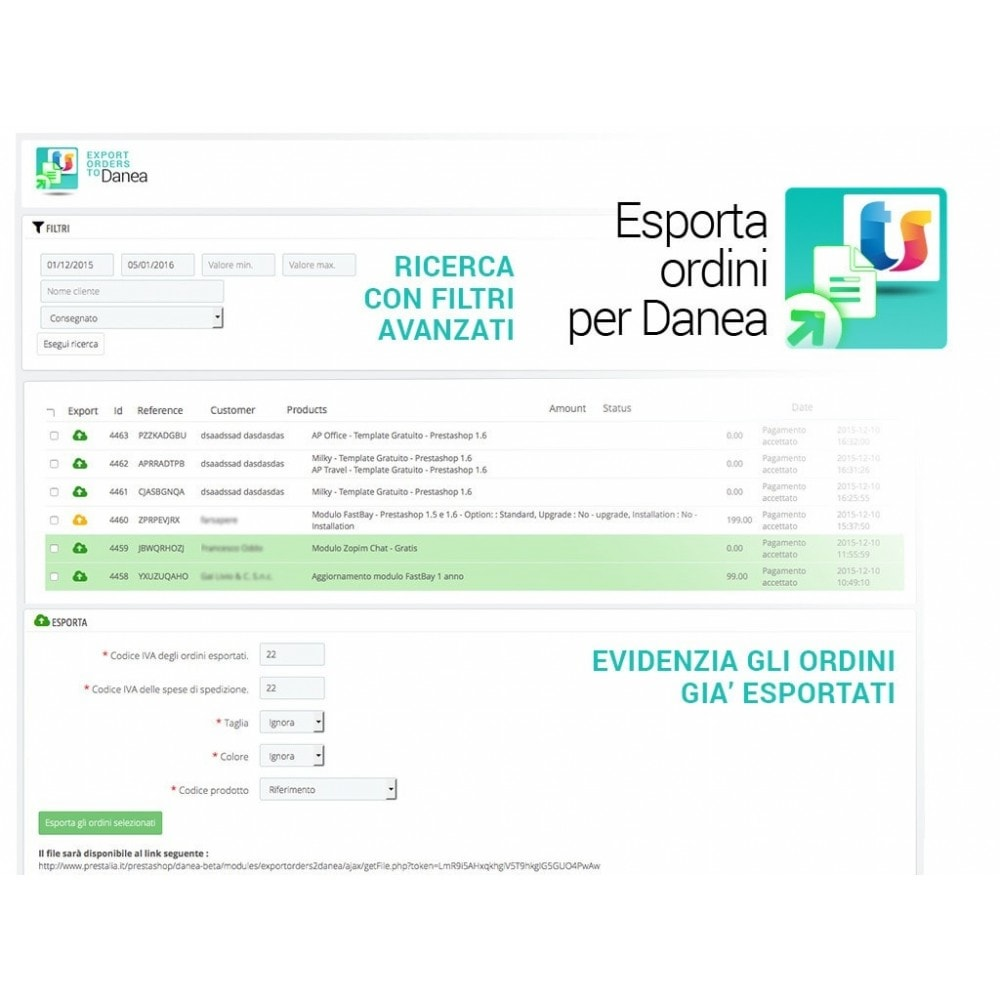 bundle - Data Import & Export - Danea Easyfatt import export full pack - 2