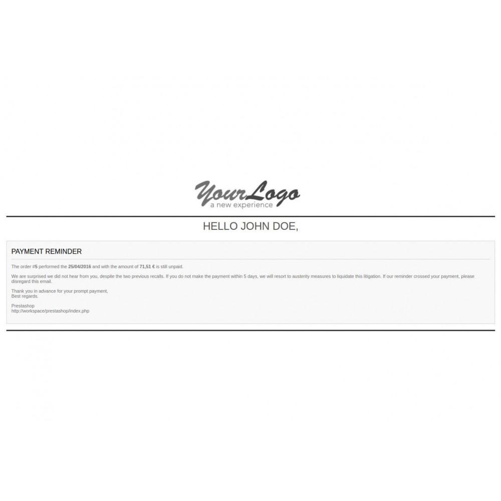 module - Gestione Ordini - Unpaid Order Reminder - 1