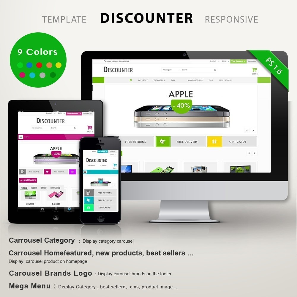 theme - Elettronica & High Tech - DISCOUNTER - 1