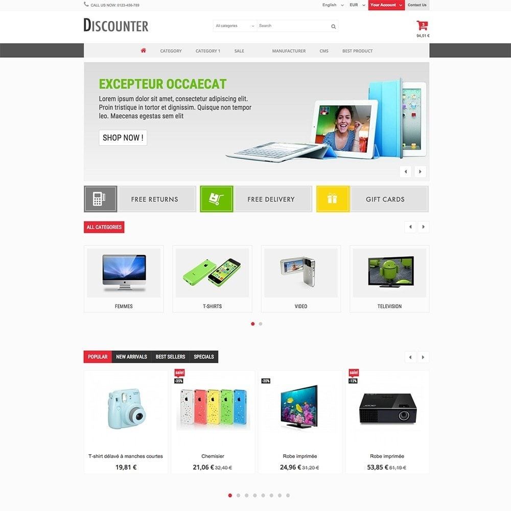theme - Elettronica & High Tech - DISCOUNTER - 4