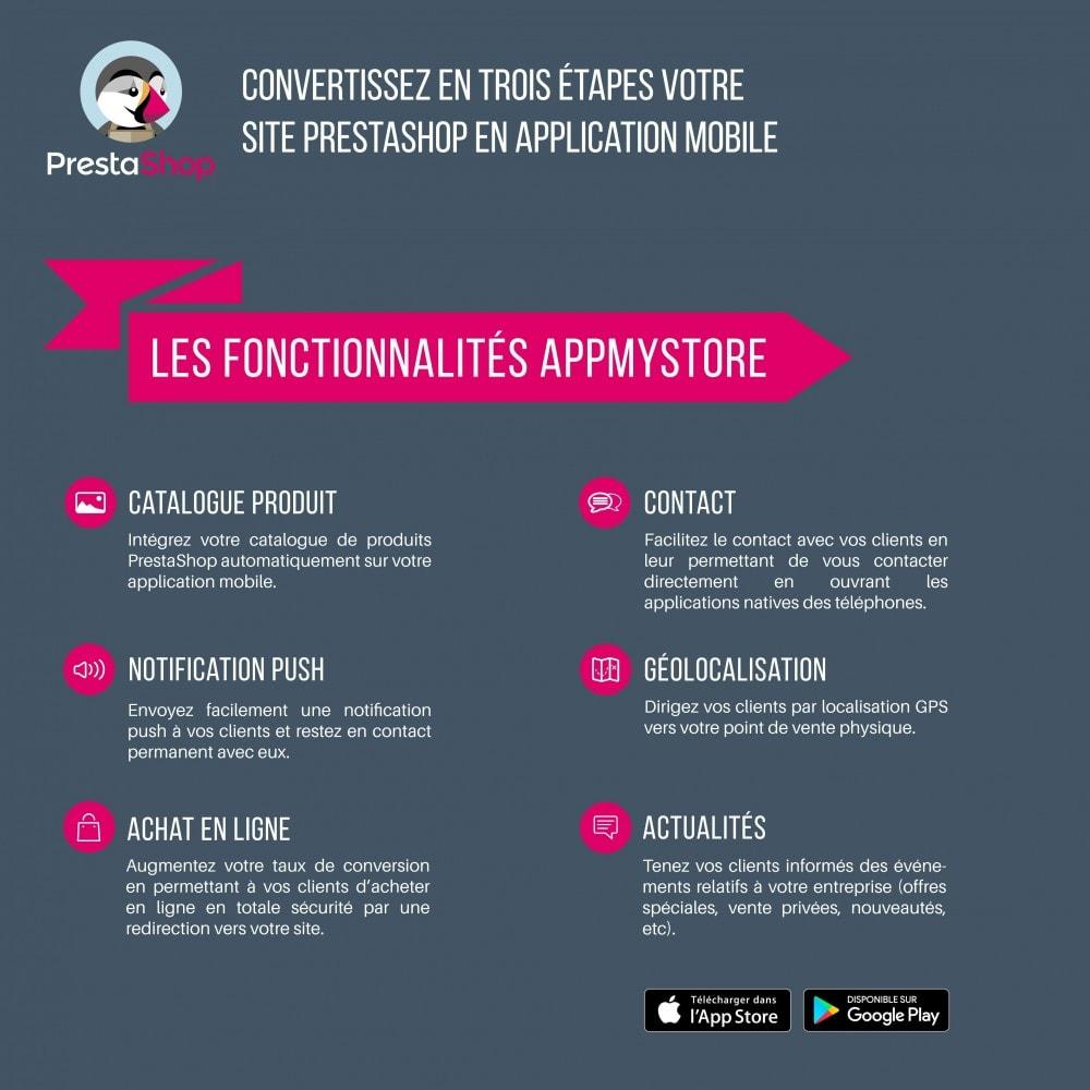 module - Mobile - AppMyStore convertissez votre boutique en appli mobile - 3